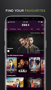 ZEE5 Premium APK Latest [100% Unlocked] free download 5
