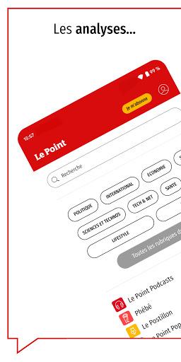 Le Point : journal, actualitu00e9s et infos en continu android2mod screenshots 5