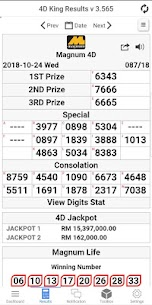 4D King Live 4D Results 2