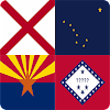 The U.S. State Flags