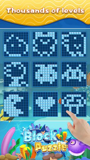 Block Puzzle & Fish - Free Block Puzzle Games  screenshots 8