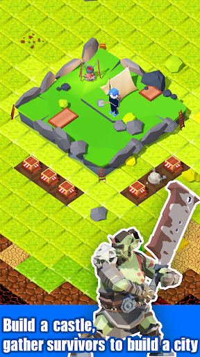 Zombie Mine - survival craft  screenshots 3