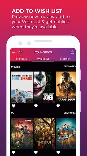 REDBOX: Rent, Stream, Buy New Movies, Free Live TV screenshots 6