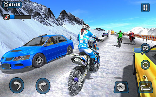 Dirt Bike Racing 2020: Snow Mountain Championship 1.0.8 screenshots 7