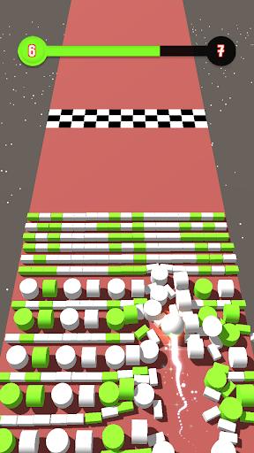 Code Triche Color Bumb Cross ball crush  game bump up the jump (Astuce) APK MOD screenshots 4