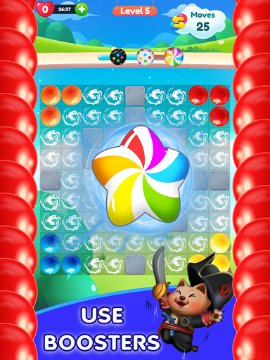 Kitty Bubble : Puzzle pop game 1.0.3 screenshots 8