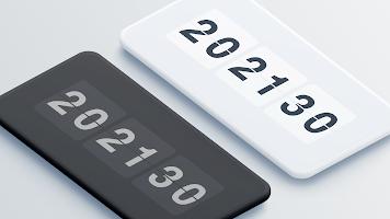 Only Clock - Flip clock & clock widget