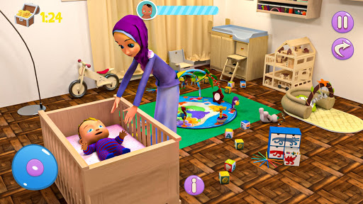 Real Mother Baby Games 3D: Virtual Family Sim 2019  screenshots 6
