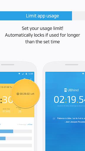 UBhind: No.1 Mobile Life Tracker/Addiction Manager 4.21.0 screenshots 3