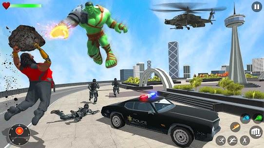 Incredible Monster Green Hero New City Battle 2021 4