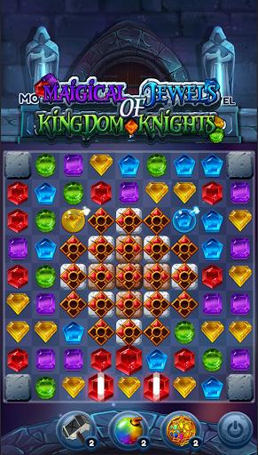 Magical Jewels of Kingdom Knights: Match 3 Puzzle apkdebit screenshots 4