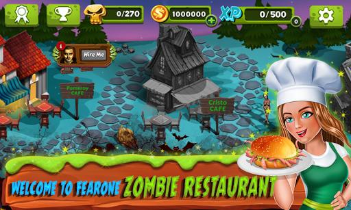 Restaurant Mania : Zombie Kitchen 1.16 screenshots 1