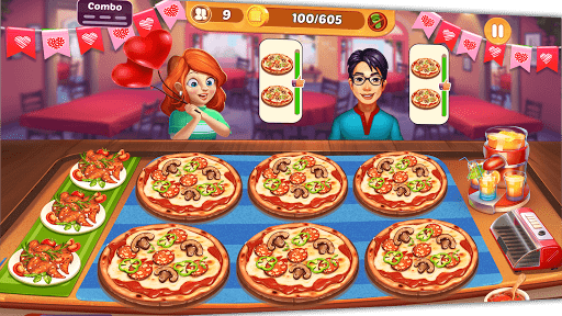 Cooking Crush: New Free Cooking Games Madness android2mod screenshots 3