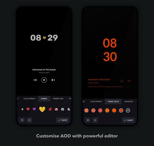 Muviz Edge - AOD Edge Lighting & Music Visualizer