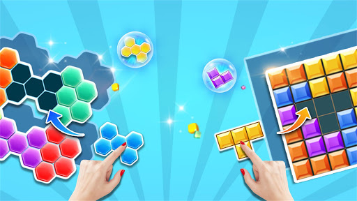 Block Gems: Classic Free Block Puzzle Games android2mod screenshots 1
