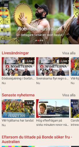 TV4 Play android2mod screenshots 1