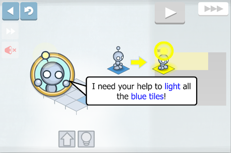 Descargar Lightbot : Programming Puzzles para PC ✔️ (Windows 10/8/7 o Mac) 1