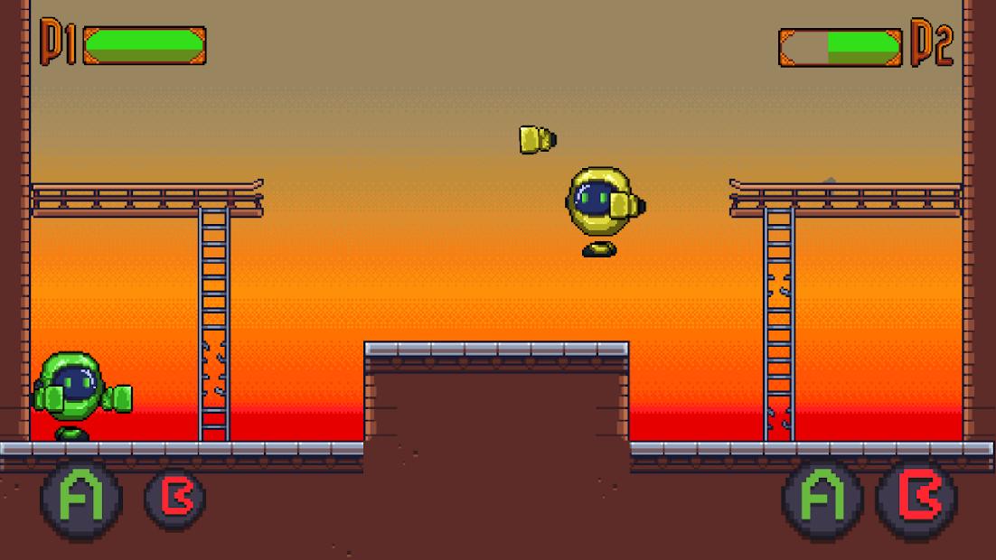 PunchBots: Unusual robots fight screenshot 1