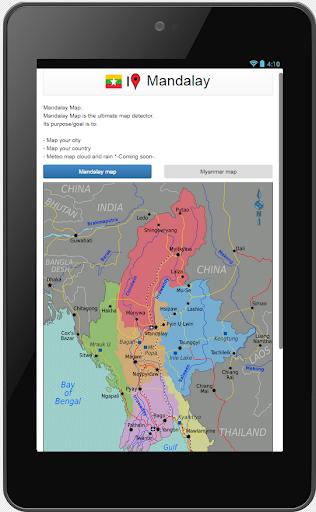Mandalay map  screenshots 1