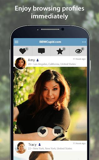 BBWCupid - BBW Dating App 4.0.0.2751 Screenshots 2