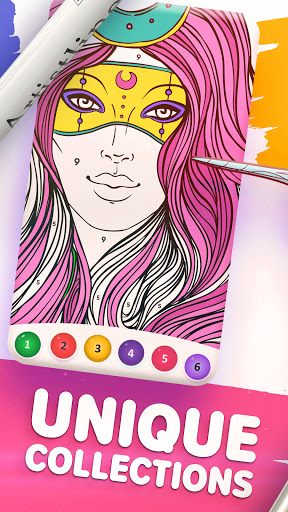 Magic Color by Number: Free Coloring game 1.6.5 screenshots 2
