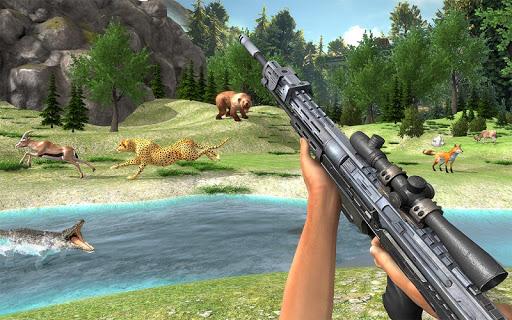 Real Jungle Animals Hunting - Free shooting game android2mod screenshots 11