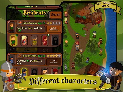 Idle Kingdom Story: Medieval Tycoon Clicker 1.1.8 screenshots 17