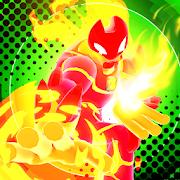 Hero Alien Force Ultimate Arena Mega Transform War