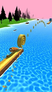 Spiral Roll Mod Apk (Shield Activated + Unlimited Money) 7