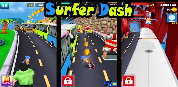 Endless escaping game Surfer Dash APK 2