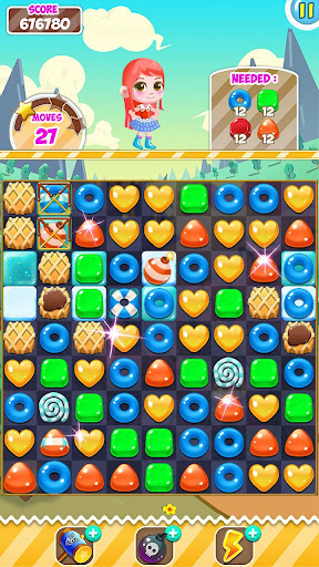 Candy Sweet Pop  : Cake Swap Match 1.6.8 screenshots 3