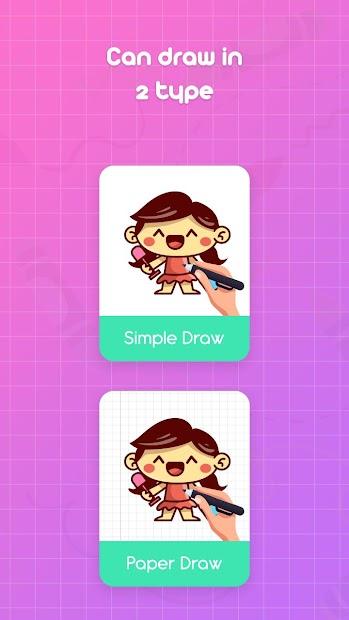 Captura de Pantalla 4 de Learn to Draw Cartoons - Step by Step para android