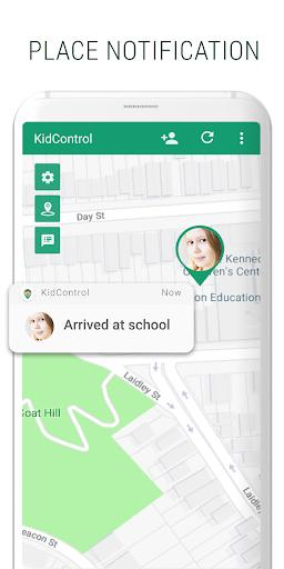 Family GPS tracker KidsControl  Screenshots 3