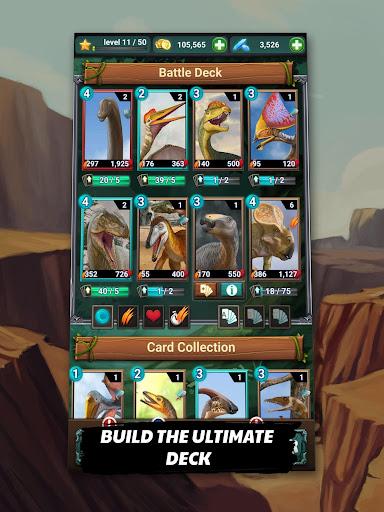 Jurassic Dinosaur: Carnivores Evolution - Dino TCG 1.4.14 Screenshots 8