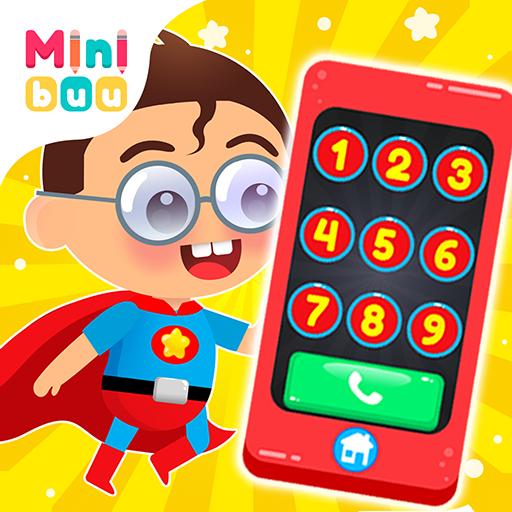 Teléfono de superhéroe para niños