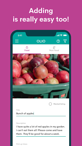OLIO - Share more. Waste less. modavailable screenshots 4
