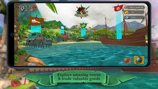 Elly and the Ruby Atlas u2013 FREE Pirate Games  screenshots 2