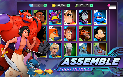 Disney Heroes: Battle Mode 2.6.11 screenshots 3