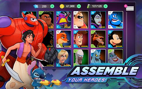 Disney Heroes: Battle Mode Mod 2.6.11 Apk [Unlimited Money] 3