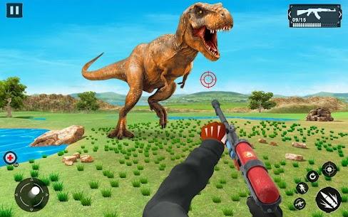 Wild Animal Sniper Hunter:Dino Hunting games – MOD + APK + DATA Download 3