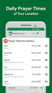 Muslim Assistant – Prayer Times, Azan, Qibla 1