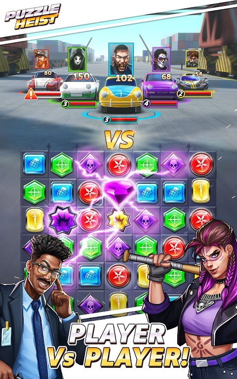 Puzzle Heist: Epic Action RPG poster 3