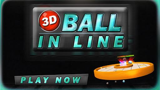 3d ball in line screenshot 1