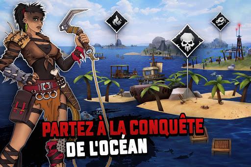 Code Triche Raft Survival: Survie sur un radeau - Nomad (Astuce) APK MOD screenshots 6