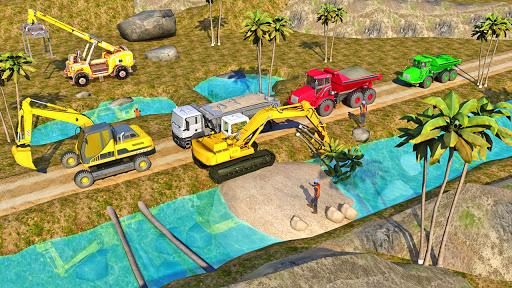 Heavy Excavator Simulator:Sand Truck Driving Game  screenshots 3