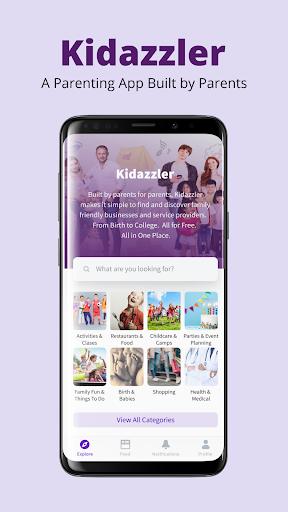 kidazzler - all-in-one parenting platform screenshot 1