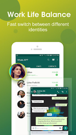 DO Multiple Accounts - Infinite Parallel Clone App 2.41.01.0210 Screenshots 2
