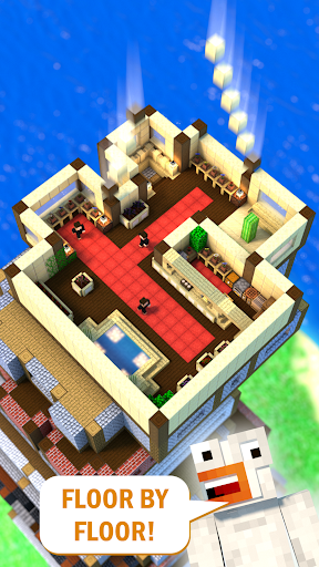 Tower Craft 3D - Idle Block Building Game  screenshots 2