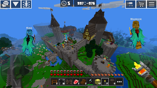PlanetCraft: Block Craft Games apkpoly screenshots 10