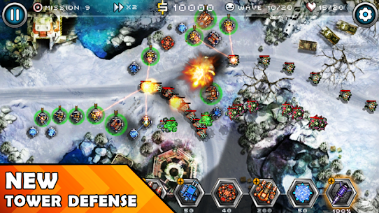 Tower Defense Zone 2 1.2 (MOD + APK) Download 1